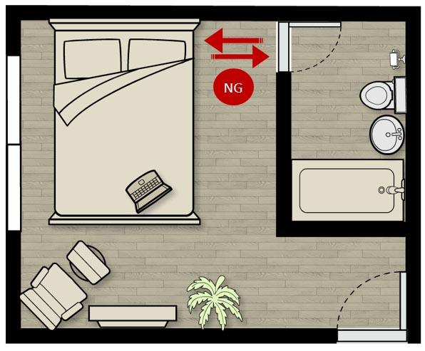 Feng Shui Tips For Toilet Door Facing The Bed Feng Shui 101