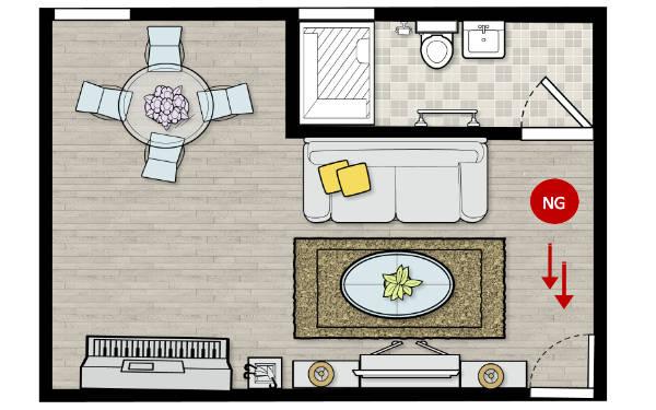 Feng shui tips for main door facing toilet feng shui 101 - Feng shui toilettes couleur ...