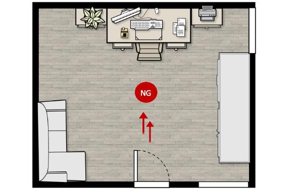 Feng Shui Tips for Study Desk Back Facing Door