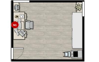 Feng Shui Tips for Study Desk Facing Wall