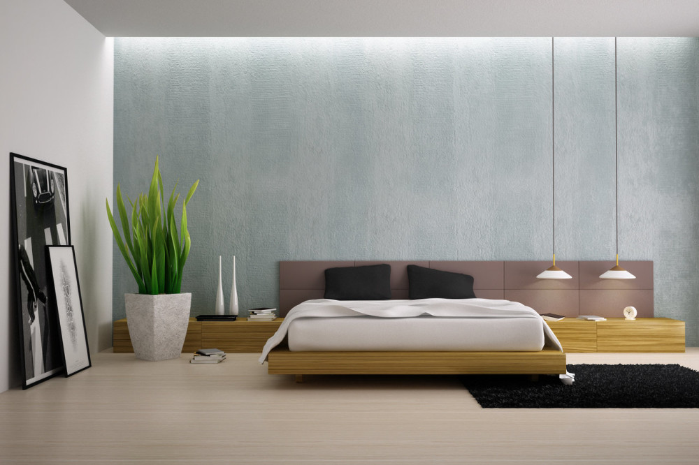 feng shui cure for bed against bathroom wall 3