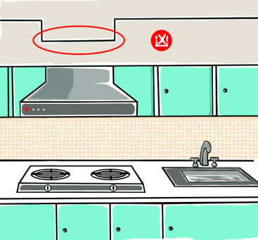 Do Not Have Beam Above Your Stove