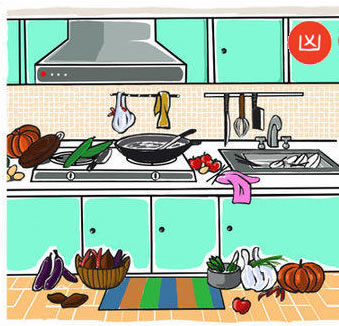 Keep Kitchen free of clutter
