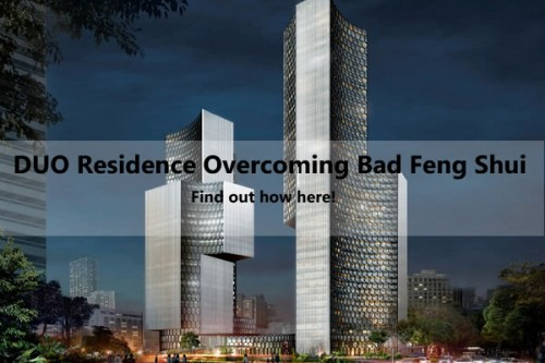 Duo Residence Overcoming Bad Feng Shui Caused By The Gateway