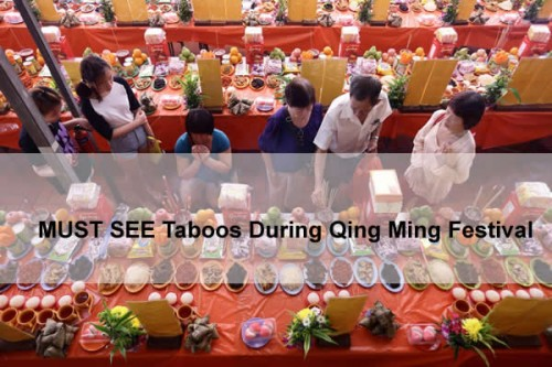 MUST READ Taboos of Qing Ming Festival