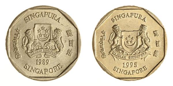 Singapore 1 Dollar Coin