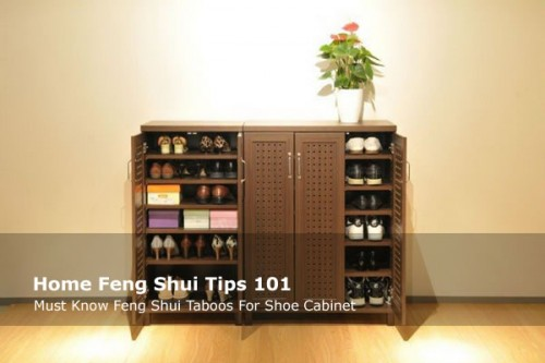 6 Must Know Feng Shui Taboos For Shoe Cabinet