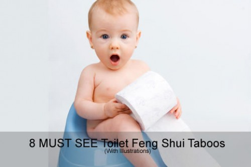 8 MUST SEE Toilet Feng Shui Taboos (With Illustrations)