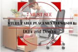 7 MUST SEE Study Table Feng Shui  Placement Taboos (With Pictures)