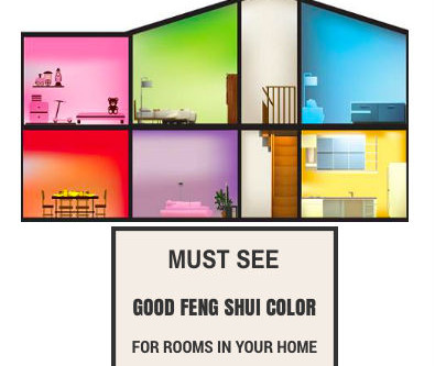 Apply Feng Shui Colour to Each Rooms in Your Home