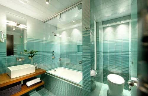 Good bathroom feng shui color