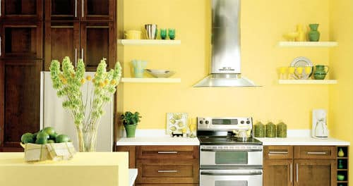 Good kitchen feng shui color