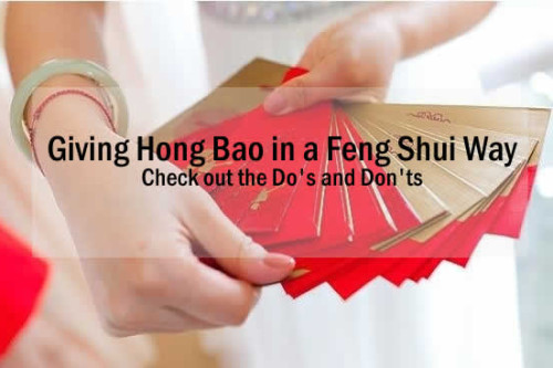 Giving Hong Bao in a Feng Shui Way