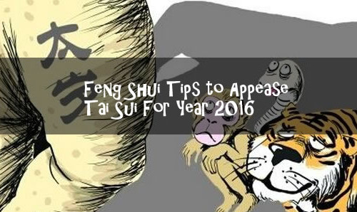 Feng Shui Tips to Appease Tai Sui For Year 2016