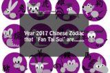 Which 4 Chinese Zodiac 'Fan Tai Sui' In Year 2017?