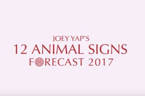 2017 Animal Sign Forecast by Master Joey Yap
