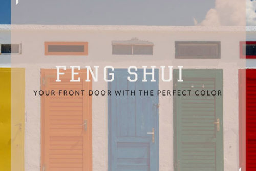 Feng Shui Your Front Door with the Perfect Color