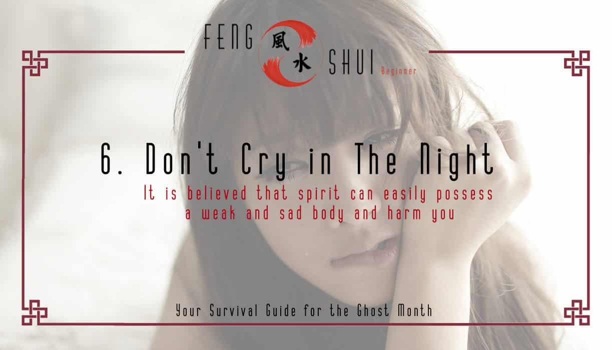 6. No Crying