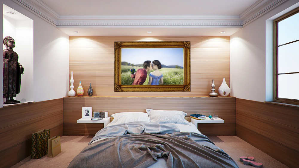 Is Placing Wedding Photo Above Bed Bad Feng Shui?