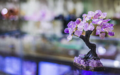 Amethyst Crystal Tree Feng Shui Use and Placement