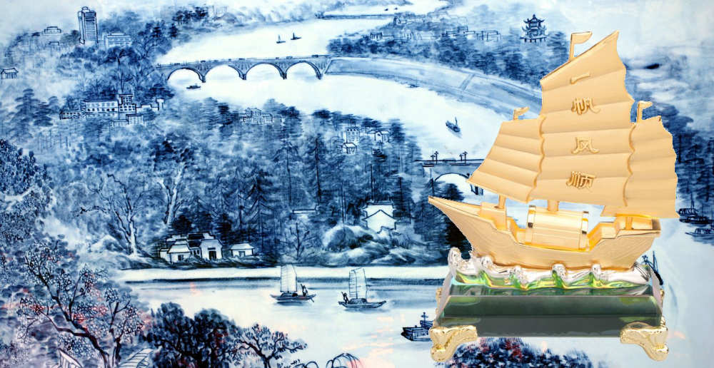 Feng Shui Wealth Ship For Money Luck